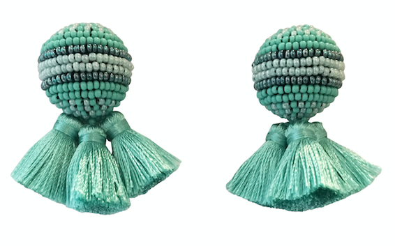 Mignonne Gavigan Sloane Stud Earrings w/ Tassels