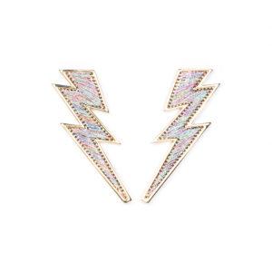 Mignonne Gavigan Lightening Bolt Earrings
