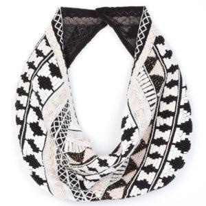 Mignonne Gavigan Nonna Cotton-Silk Scarf Necklace