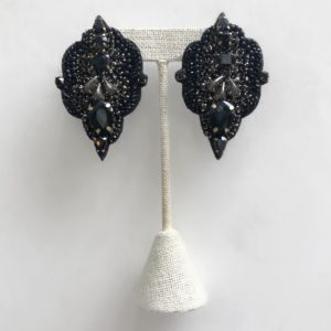 Mignonne Gavigan Lindsay Mini Earring, Black