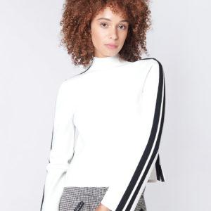 Veronica Beard Retha Sweater, Ivory