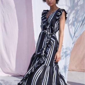 Apiece Apart Costa Del Sol Wrap Dress
