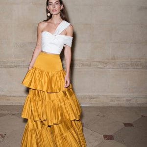 Amur Mila Skirt, Yellow
