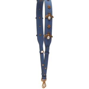 Bee Clear Handbag Strap, Blue