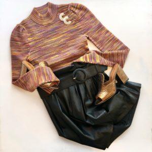 Ronny Kobo Angela Skirt, Black