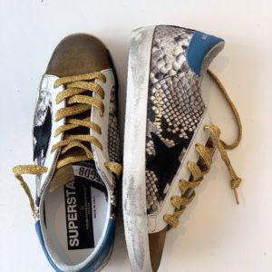 Golden Goose Superstar Sneaker Rock Snake-Black Star