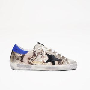 PREORDER Golden Goose Sneakers Superstar, Printed Python/Black Star