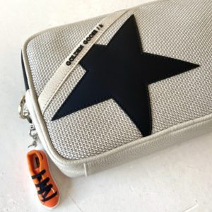 Golden Goose Star Bag, Grey Mesh