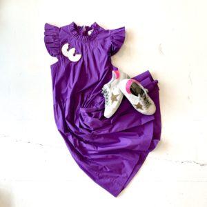 Sea Tabitha Tiered Dress, Grape