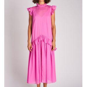 Rhode Resort Mary Dress, Cupid Pink