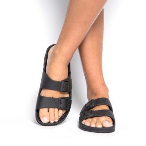 CACT Rio De Janeiro Sandal, Black